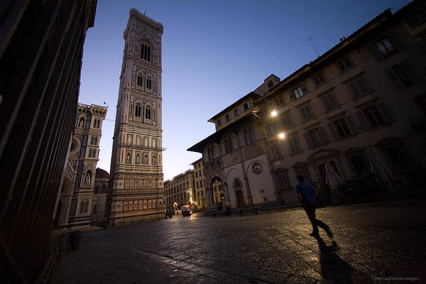 Italy Art Print featuring the photograph Sunrise In Florence 3 by Luigi Barbano BARBANO LLC