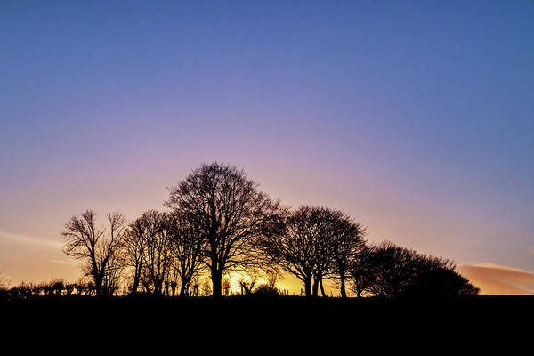 Sunset Art Print featuring the photograph Sunset At Turlough by Michael Kinsella
