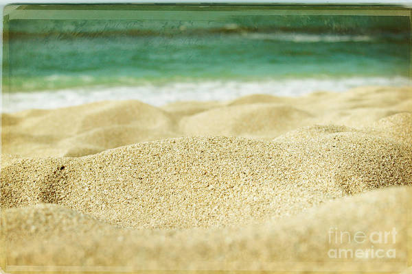 Sunset Beach Art Print featuring the photograph Sunset Beach by Sharon Mau