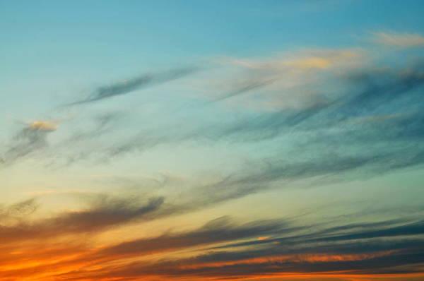 Sky Art Print featuring the photograph Sunset by Ebru Tuna