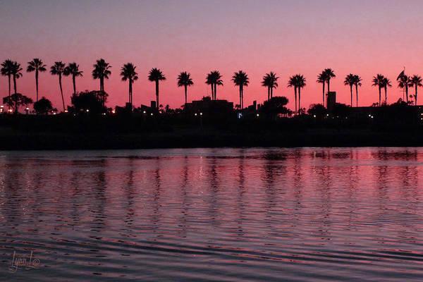Sunset Art Print featuring the photograph Sunset On Long Beach Bay by S Lynn Lehman