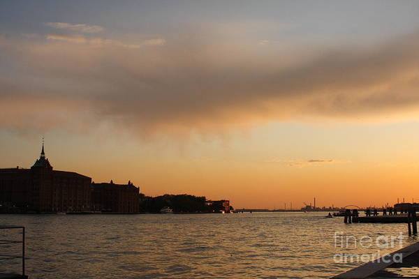 Venice Art Print featuring the photograph Sunset On The Edge Of Venice by Michael Henderson