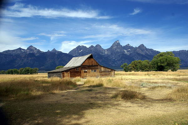 Grand Teton National Park Art Print featuring the photograph Teton Barn 3 by Marty Koch