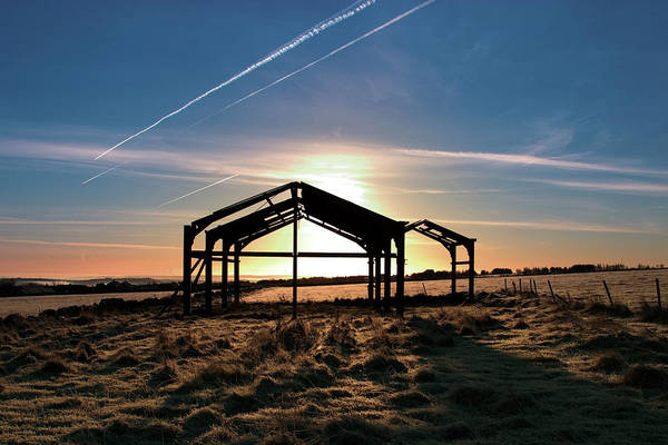 Barn Art Print featuring the photograph The Barn by Brian Middleton