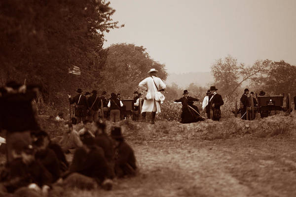 Civil War Art Print featuring the photograph The Battle Of Franklin by Mark Currier