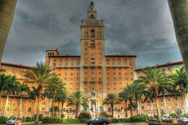 Hotel Art Print featuring the photograph The Biltmore Hotel by Roger And Michele Hodgson
