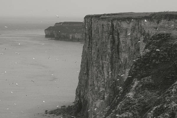 Cliffs Art Print featuring the photograph The Cliffs by Ian Byrom