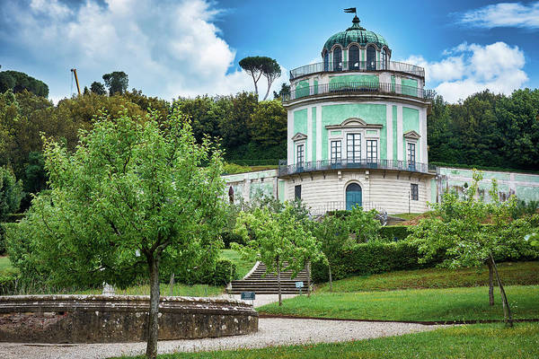 The Kaffeehaus in the Boboli Gardens of Florence