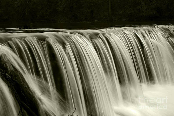 Waterfalls Art Print featuring the photograph The Falls by Timothy Johnson