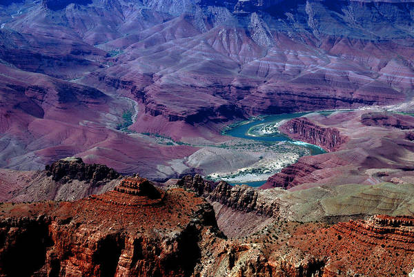 Photography Art Print featuring the photograph The Grand Canyon by Susanne Van Hulst