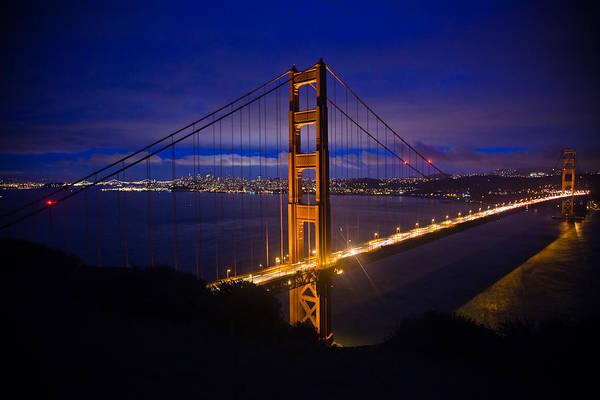 Golden Gate Bridge Art Print featuring the photograph The Grand Golden Gate by Patrick Flynn