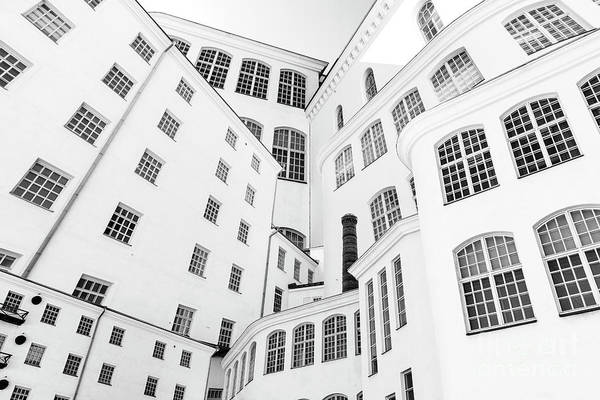 Architecture Art Print featuring the photograph The Layers by Tapio Koivula