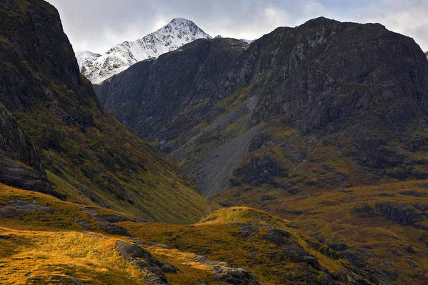 Scotland Art Print featuring the photograph The Lost Valley Glencoe by John McKinlay