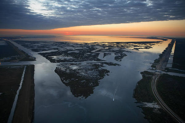 New Orleans Art Print featuring the photograph The Mississippi River Gulf Outlet by Tyrone Turner