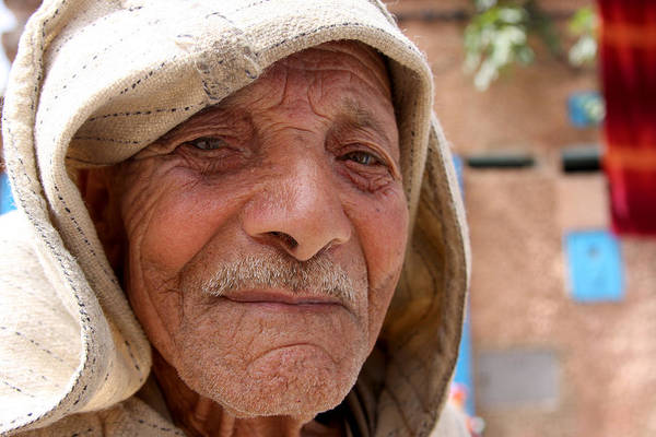 Morocco Art Print featuring the photograph The Moroccan Man by Jason Hochman