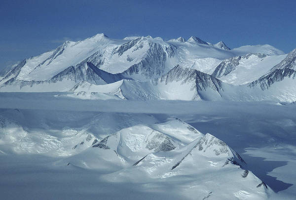 Outdoors Art Print featuring the photograph The Mount Vinson Massif 16, 059 by Gordon Wiltsie