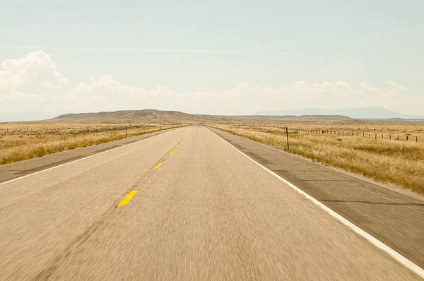 Open Road Art Print featuring the photograph The Open Road by Rosemary Legge