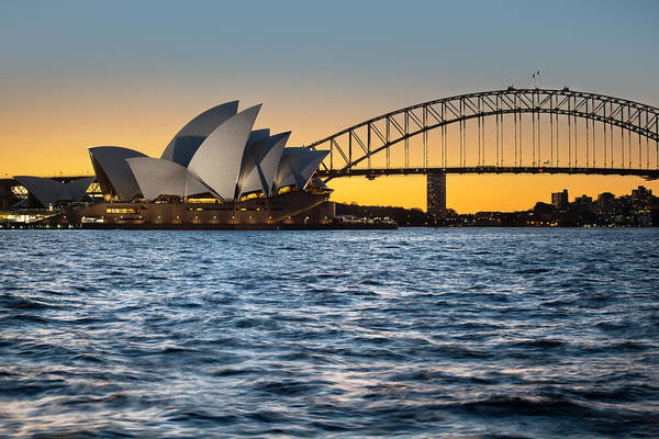 Sydney Art Print featuring the photograph The Opera by Andre Distel