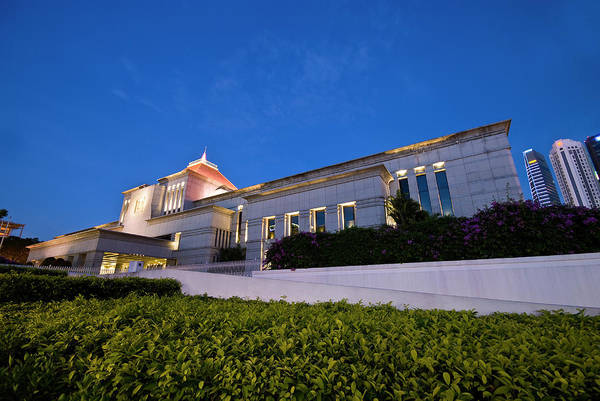 Parliament Of Singapore Art Print featuring the photograph The Parliament by Ng Hock How