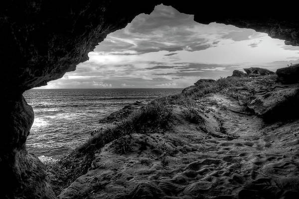 Alone Art Print featuring the photograph The Secret Cave by Natasha Bishop