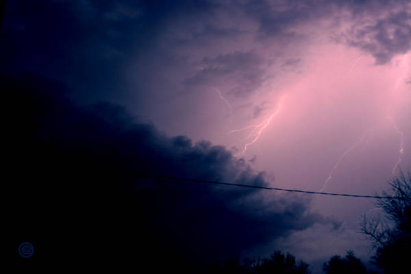 Sky Art Print featuring the photograph The Storm 1.1 by Joseph A Langley