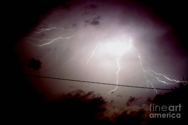 Sky Art Print featuring the photograph The Storm 2.3 by Joseph A Langley