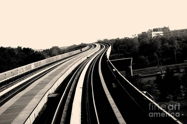 Track Art Print featuring the photograph The To Do Track For Life by Sateesh Challa