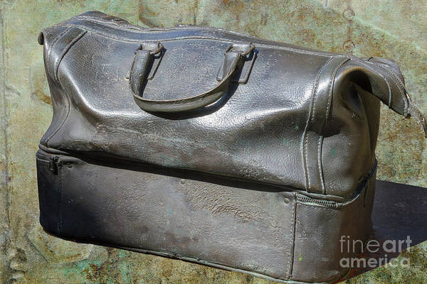 Bag Art Print featuring the photograph The Travellers Travel Bag by Heiko Koehrer-Wagner