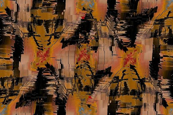 Turmoil Art Print featuring the digital art The Turmoil Within by Tim Allen