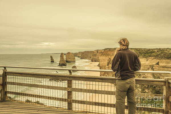 Apostle Art Print featuring the photograph The Twelve Apostles Tourist by Jorgo Photography - Wall Art Gallery