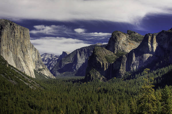 Yosemite Art Print featuring the photograph The Valley by Jim Riel