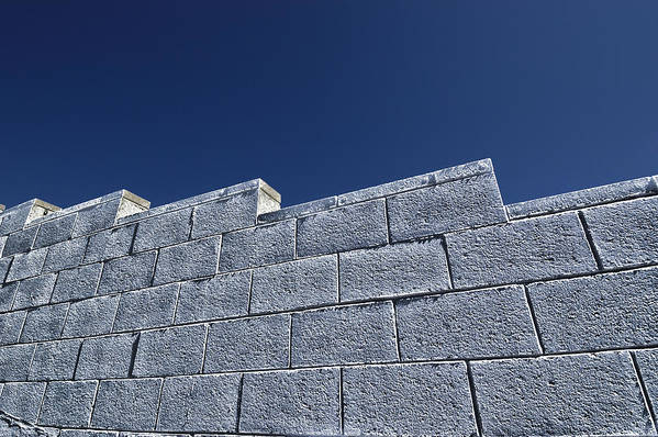 Wall Art Print featuring the photograph The Wall by Marco Moscadelli