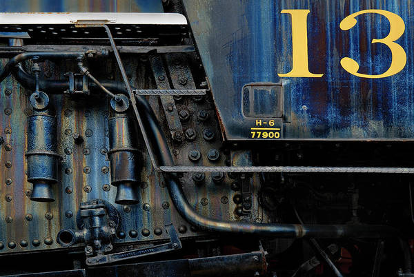 Engine Art Print featuring the photograph Thirteen by Murray Bloom