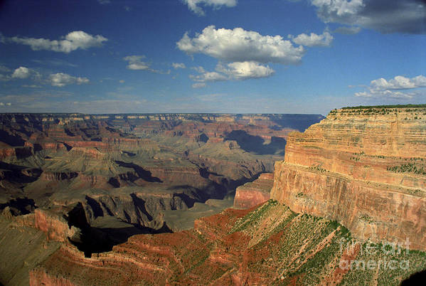 Grand Canyon Art Print featuring the photograph This Is My Father's World by Kathy McClure