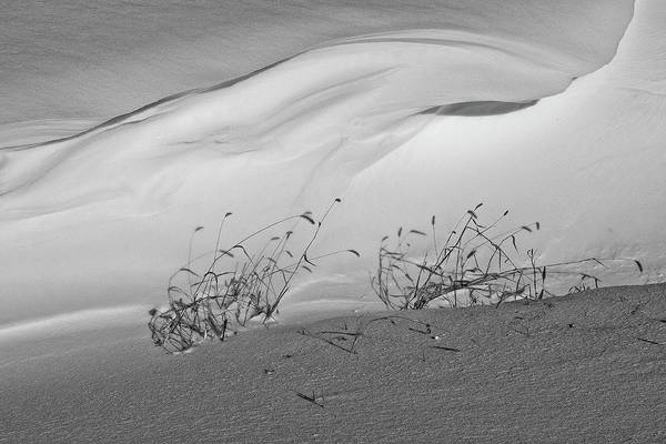 Snow Art Print featuring the photograph Tidal Snow by Jason Wolters
