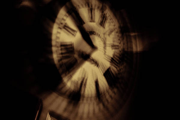 Time Art Print featuring the photograph Time II by Grebo Gray