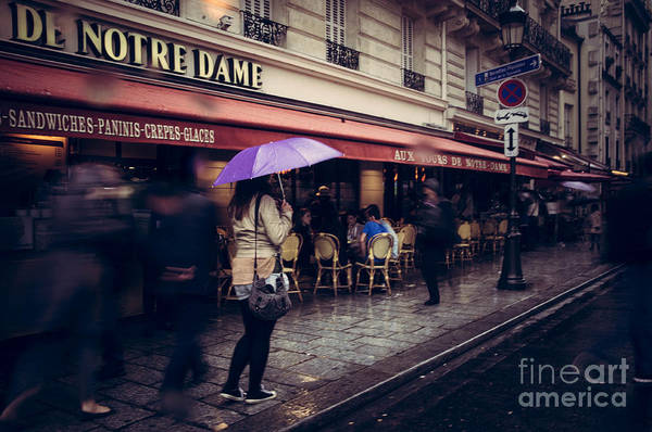 Paris Art Print featuring the photograph Timeless by Andrea Letzner