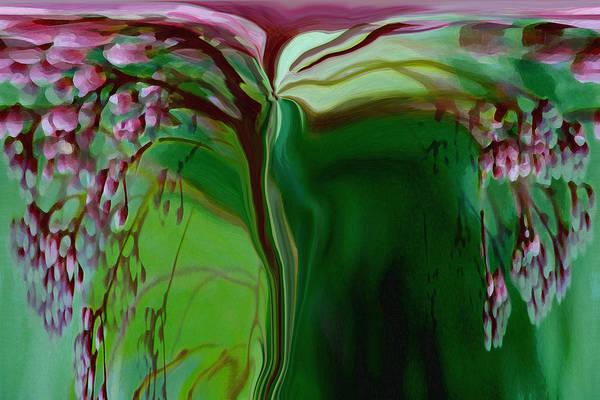 Tree Life Art Art Print featuring the digital art Tree Of Life by Linda Sannuti