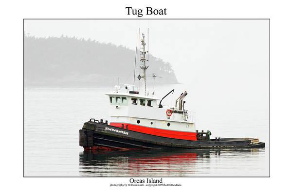 San Juan Photographs Art Print featuring the photograph Tug Boat by William Jones