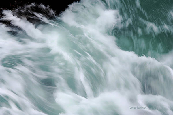 Sea Art Print featuring the photograph Turbulent Seas by Donna Blackhall