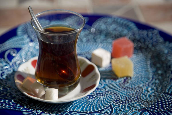 Turkey Art Print featuring the photograph Turkish Tea by Steve Outram