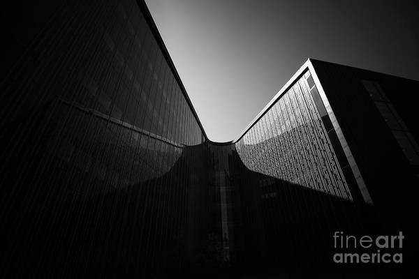 Architecture Art Print featuring the photograph U-turn by Tapio Koivula
