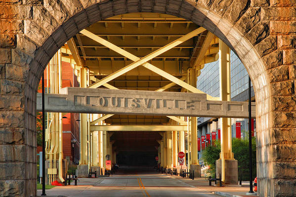 Road Art Print featuring the photograph Under The Bridge II by Steven Ainsworth