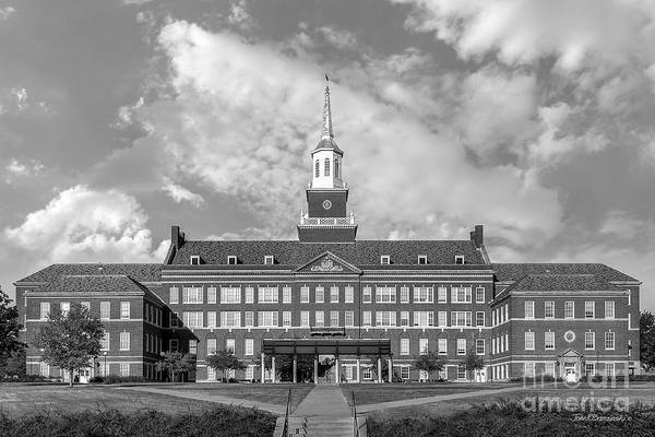 American Art Print featuring the photograph University Of Cincinnati Mc Micken Hall by University Icons
