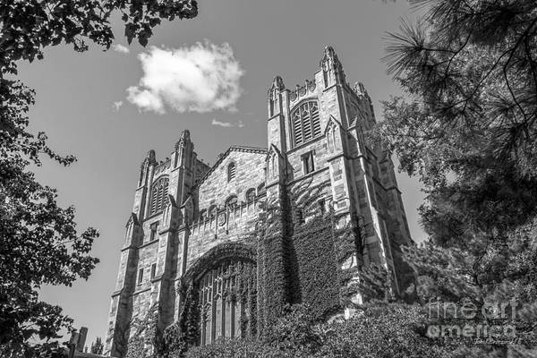 Ann Arbor Art Print featuring the photograph University Of Michigan Law Library by University Icons