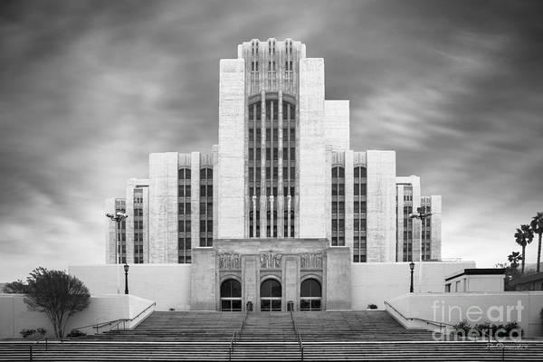 California Art Print featuring the photograph University Of Southern California University Hospital by University Icons