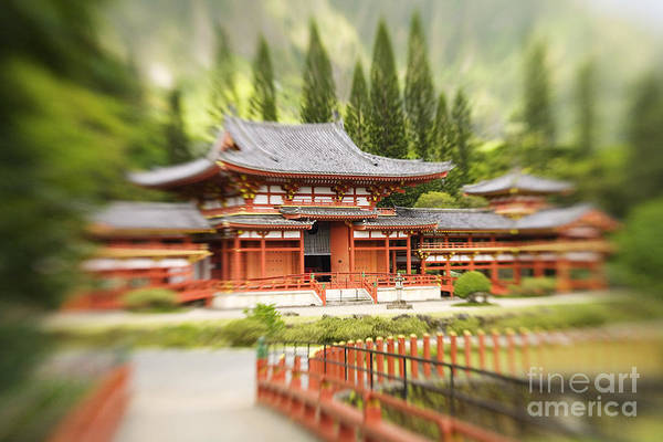 Ahuimanu Valley Art Print featuring the photograph Valley Of The Temples by Ron Dahlquist - Printscapes