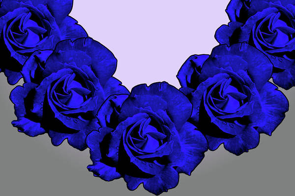 Blue Art Print featuring the photograph Varas Rose 30 by Per Lidvall