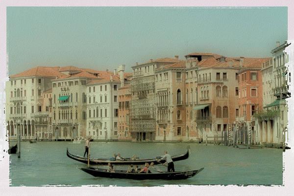 Venice Art Print featuring the photograph Venetian Highway by Lynn Andrews