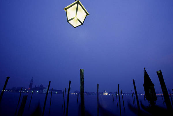 Blue Art Print featuring the photograph Venice by Brad Rickerby